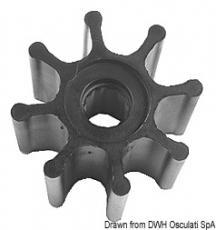 Impeller Innenborder für Volvo Penta Original-Artikelnummer 877061, 875593-6, 3841697, 21951356
