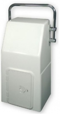GFK-Konsole mit NIRO-Bügel  41x34x82 cm