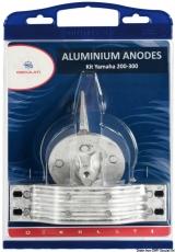 Anoden-Set Yamaha 300-350-425PS High Performance, Magnesium