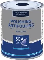 SEA-LINE Antifouling Selbstpolierend Silver Cruise Farbe schwarz 2,5Liter