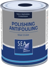 SEA-LINE Antifouling Selbstpolierend Silver Cruise Farbe blau 2,5Liter