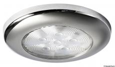 LED-Deckenleuchte ohne Einbau, weiß