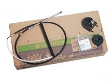 Rotationssteueranlage T 67 Ultraflex Rotech IV enthält Steuerwerk T67, Montageplatte, M58 Kabel 16Fuß