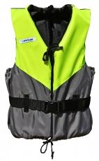 Navyline Schwimmhilfe 50N UV-gelb dunkelgrau Größe M