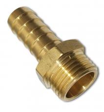 Schlauchtülle aus Messing mit Außengewinde 1/4 Zoll auf 6mm