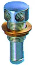 Entlüftungsnippel verchromtes Messing  Ø 20mm gerade Ausführung
