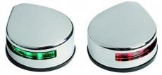 Navigationslicht EVOLED mit energiesparenden LED zur Bodenmontage, links+rechts  für eine Bootslänge von bis zu 20 m