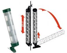 PROFESSIONAL Radarreflektoren Klappbar  bis 4 Seemeilen. Länge 600mm Breite 100mm