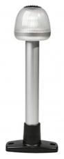 Vollkreis  Ankerlaterne mit Mast Höhe 204 mm und Fuß