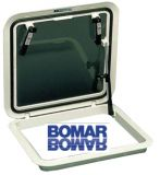 Lukeneinstiege BOMAR Flushdeck aus Polykarbonat Außen 570x570mm