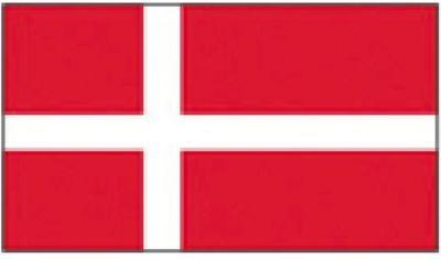 Flaggenfritze/® Flagge Island gratis Sticker 60 x 90 cm isl/ändische Flagge hissfertig mit /Ösen