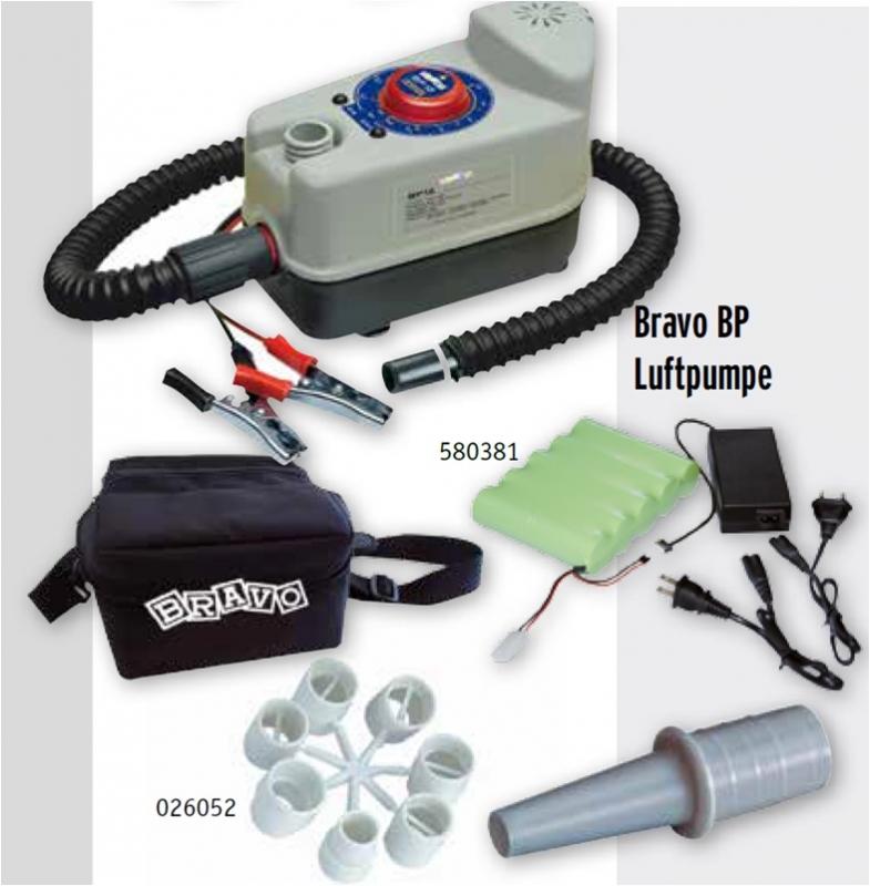 Svært Bravo BP Luftpumpe mit viel Zubehör WG-59