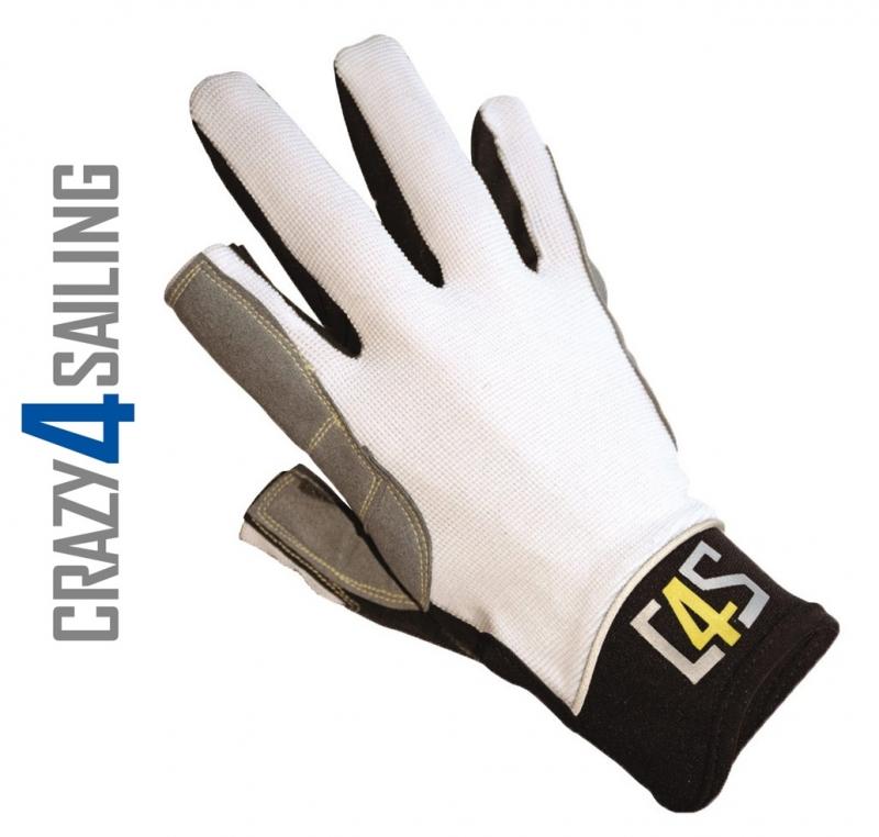 Bootsport C4S Segelhandschuhe 5 Finger geschnitten Segeln Wassersport