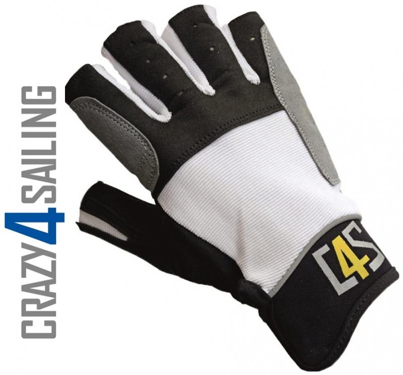 Handschuhe C4S Segelhandschuhe 5 Finger geschnitten Segeln Wassersport
