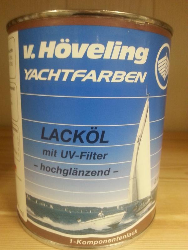 Hoveling D15 Lackol Mit UV Filter Transparent 075l