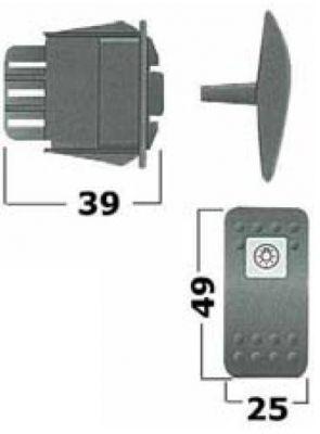 CARLING Contura II Schaltwippe Autopilot