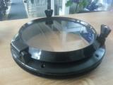 Bullauge aus Nylon Außenmaß 220mm Farbe schwarz