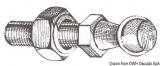 Stahlkugel für die Montage von Gasdruckfedern