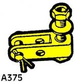 Teleflex Gabel für Steuerkabel mit Loch A375