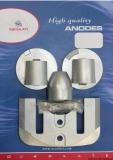 BRAVO III 2004 bis heute MERCRUISER Anoden-Set Aluminium