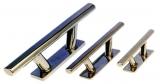 Beleg Klampe polierter rostfreier Stahl  Länge 205 mm