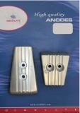 Set 2 Stk - VOLVO SX-A DPS  Aluminium