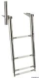 Ausziehbare Leitern für Badeplattform mit Haltegriff 4 Stufen BBN04