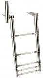 Ausziehbare Leitern für Badeplattform mit Haltegriff 5 Stufen BBN04