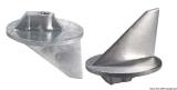 Kurze Finnanode Aluminium