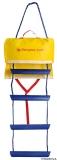 Rettungsleiter, Not Leiter, Sicherheitsleiter 5stufig Ideal für Alleinsegler Länge=134cm
