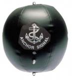 Schwarzer Signalball, aufblasbar Größe Ø 400mm