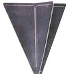 Schwarzer Signalkegel Höhe 470 mm