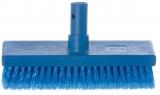 Yachticon Bürste mittel blau mit Wasserdurchlauf
