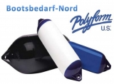 Polyform Fender Typ F6 blau