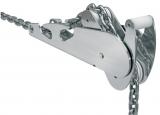 Ankerrollen NIRO Typ2 geeignet für Bruce Trefoil CQR  SOC Anker Typen Größe 5