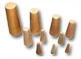Notstopfen Set Stopfen zum abdichten 10 Stück aus Holz