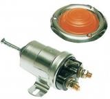 24V Schaltrelais für Ankerwinden mit mechanischer Bedienung rote Kappe