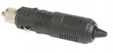 Stecker mit Sicherung + LED rot 12V