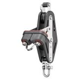Sprenger - 12mm Violinblock mit 2 Rollen, Wirbel und Schotklemme