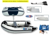 Schlauchboot 290 Sens Allpa fester Alu/PVC-Boden für Außenborder bis 10PS