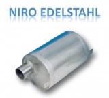 Wassersammler NIRO Edelstahl 304 horizontale für 40mm Schlauch