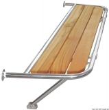 Heck-Badeplattformen für Segelboote  Motorsegler Breite 1090mm