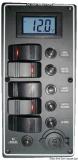 Elektrische Schalttafel Serie PCAL mit digitalem Voltmeter 9 bis 32 V