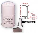 ECHOMAX EM230 MIDI Der kleinste passive Radarreflektor aus der 230 Serie kpl. m. Mastbügel