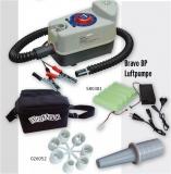Bravo BP Luftpumpe 12V inkl. Batteriesatz und Zubehör