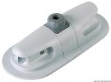Ruderdollenhalter für PVC-Schlauchboote Maße 90x200x H 50mm