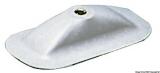 Ruderdollenhalter Farbe grau 7035 Maße 200 x 100mm Aufnahme-Ø 12,5mm