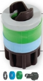 Bajonettanschluss Schnellanschluß für Luftschlauch und Schlauchbootventil