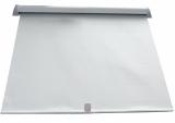Lukenrollo Größe: 450x500 mm Farbe weiß