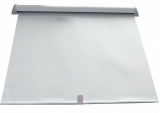 Lukenrollo Größe: 680x780 mm Farbe weiß